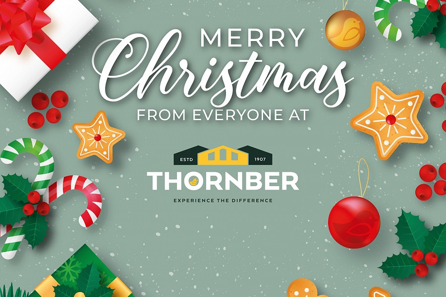 Happy Christmas & New Year from all the team at Thornber