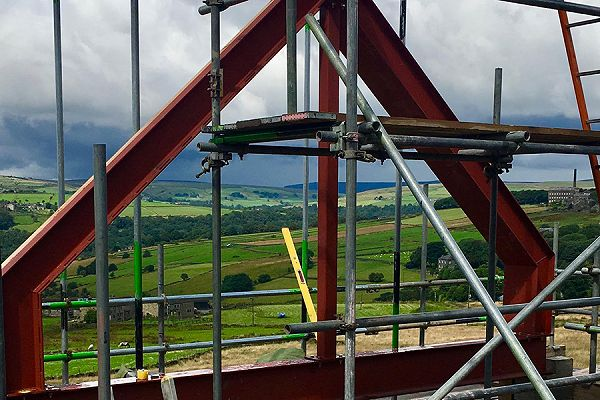 Broadcliffe steel structure