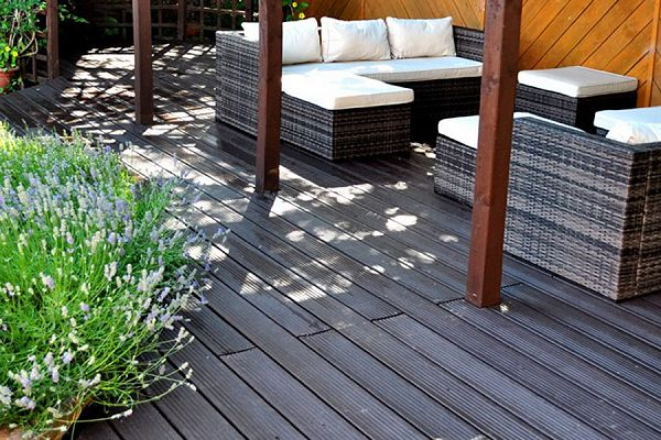British Recycled Plastic decking