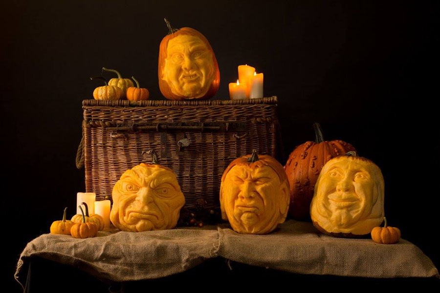 Online pumpkin carving workshops from Sand In Your Eye