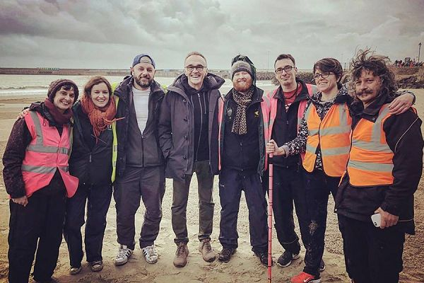 Sand In Your Eye team photo with Danny Boyle