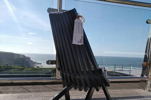 Toby Chair by the sea